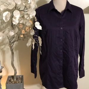 COLDWATER CREEK NON IRON BLOUSE